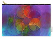 Rainbow Bubbles Carry-all Pouch by Klara Acel