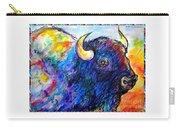 Rainbow Buffalo Carry-all Pouch