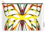 Rainbow Butterfly Abstract Nature Artwork Carry-all Pouch