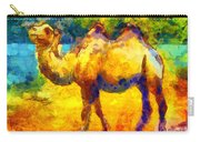 Rainbow Camel Carry-all Pouch by Pixel Chimp