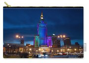 Palace Of Science And Culture In Rainbow Colors  Carry-all Pouch