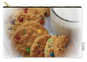 Rainbow Cookies And Milk - Food Art - Kitchen Carry-all Pouch