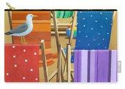 Rainbow Deckchairs Carry-all Pouch