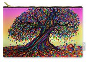 Rainbow Dreams And Falling Leaves Carry-all Pouch