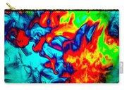 Rainbow Dye Carry-all Pouch
