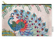 Rainbow Feathers Carry-all Pouch