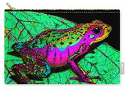 Rainbow Frog 3 Carry-all Pouch