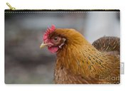 Rainbow Hen Carry-all Pouch