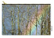 Rainbow Hiding Behind The Trees Carry-all Pouch