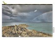 Rainbow In Storm Clouds Pointe De Saint Cast  Carry-all Pouch