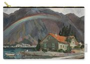 Rainbow In The Mountains Carry-all Pouch