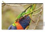 Rainbow Lorikeet 02 Carry-all Pouch