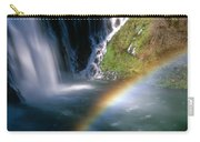 Rainbow On Burney Falls Carry-all Pouch