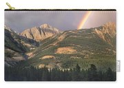 Rainbow Over Colin Range Jasper Np Carry-all Pouch