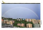 rainbow over Genova Carry-all Pouch