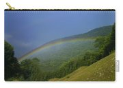 rainbow over Maggie valley Carry-all Pouch