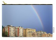 Rainbow Over The Town Carry-all Pouch