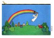 Rainbow Painter Carry-all Pouch by Sarah Batalka