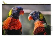 Rainbow Parrot Carry-all Pouch