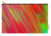 Rainbow Passion Abstract Upper Left Carry-all Pouch