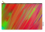 Rainbow Passion Abstract Upper Right Carry-all Pouch