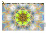 Rainbow Starburst Mandala Carry-all Pouch