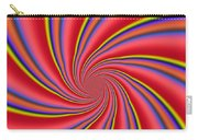 Rainbow Swirls Carry-all Pouch