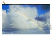 Rainbow Through The Clouds, Oahu Carry-all Pouch