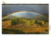 Rainbow Through The Forest Carry-all Pouch