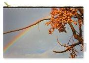 Rainbow Through Tree Carry-all Pouch
