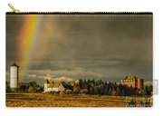 Rainbow Over The Tower Carry-all Pouch