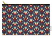 Rainbowaves Pattern Dark Carry-all Pouch