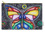 Rainbows And Butterflies Carry-all Pouch