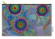 Rainbows In Flowers  Carry-all Pouch
