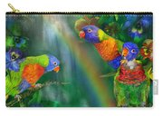 Rainbows In Paradise Carry-all Pouch