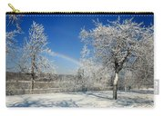 Rainbows Of Ice Carry-all Pouch
