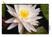 Raindrop Water Lilly Carry-all Pouch