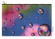 Raindrops And Flowers 7 Carry-all Pouch