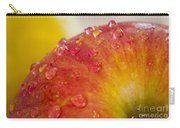 Raindrops On An Apple Carry-all Pouch