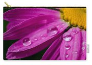 Raindrops On Daisies Carry-all Pouch