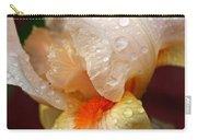 Raindrops On Orange Iris Carry-all Pouch