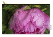 Raindrops On Peony Carry-all Pouch