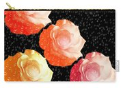 Raindrops On Roses - My Favorite Things Carry-all Pouch