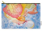 Raindrops On Roses Watercolor Art Prints Carry-all Pouch
