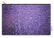 Raindrops On Window II Carry-all Pouch