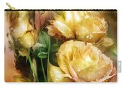 Raindrops On Yellow Roses Carry-all Pouch