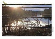 Raindrops To River Sunrise Carry-all Pouch