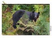 Rainforest Black Bear Carry-all Pouch