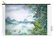 Rainforest Realm - St. Lucia Parrots Carry-all Pouch