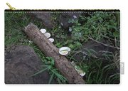 Rainforest Vegetation Moss And Fungi Carry-all Pouch